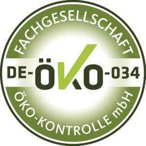 Zertifikat DE-ÖKO-Kontrolle GmbH, Fachgesellschaft, Altmarksaaten